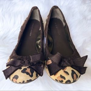 "Banana Republic ""Angela"" Cheetah Ballet Flats"